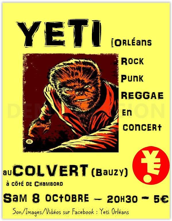 """8 Octobre 2016 Yeti à Bauzy """"le Colvert"""""""