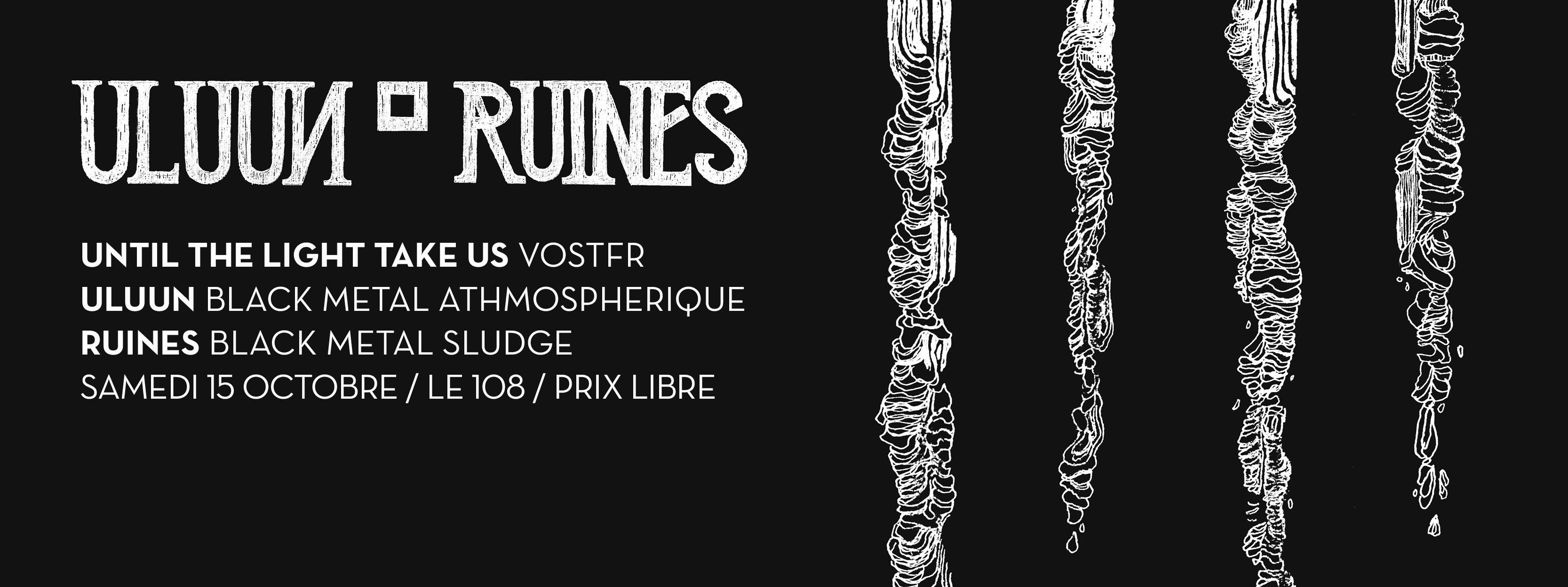 """15 Octobre 2016 Uluun, Ruines à Orléans """"le 108"""""""