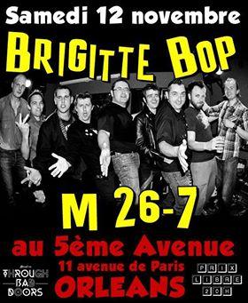 """12 novembre 2016 M26-7, Brigitte Bop à Orléans """"5ème Avenue"""""""