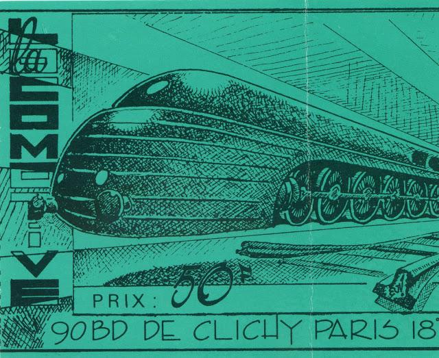 """28 novembre 1987 Gun Club à Paris """"la Locomotive"""""""