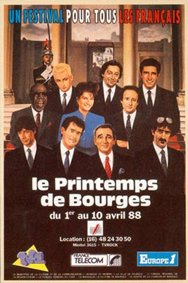 9 avril 1988 Les Thugs à Bourges