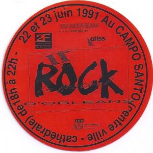 "23 juin 1991 les Sherpas, les Good Old Boyz, Cry Babies, Burning Heads, Mano Negra à Orléans ""Campo Santo"""