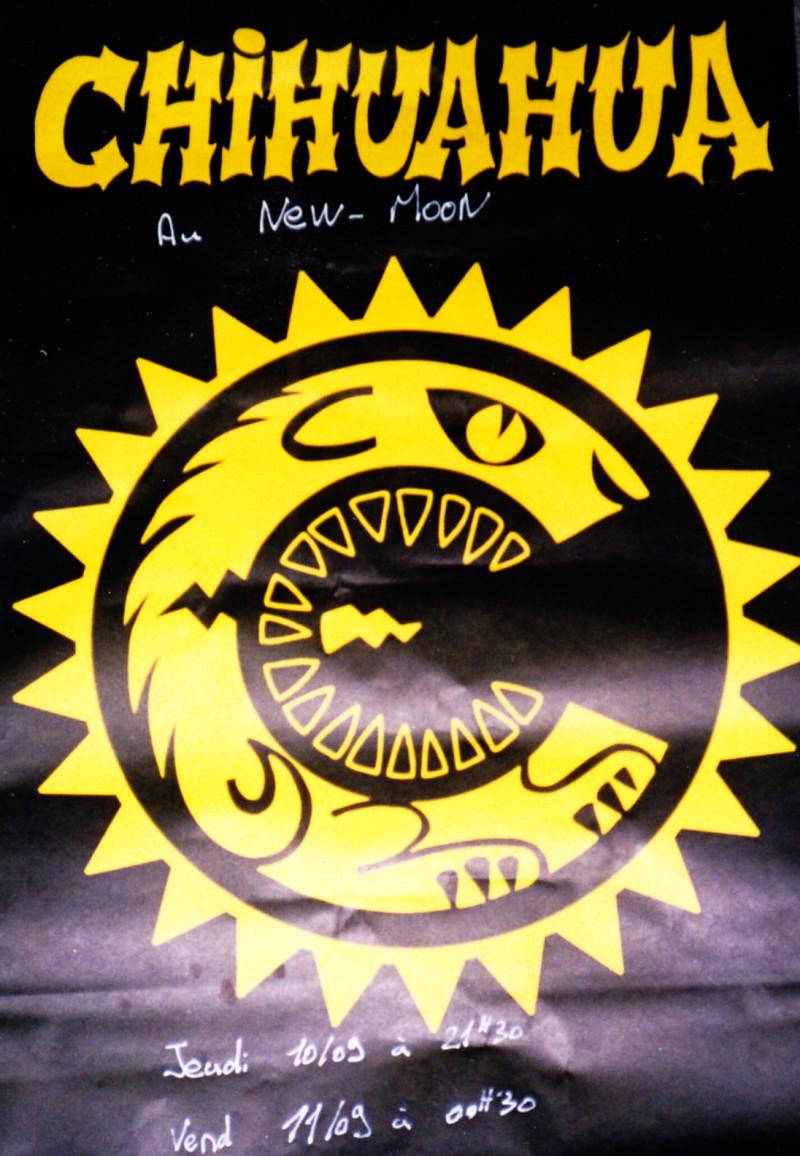 """10 septembre 1992 Chihuahua à Paris """"le New Moon"""""""