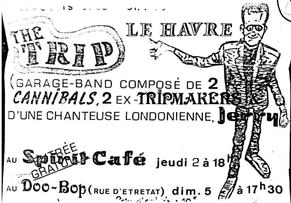 """2 decembre 1993 The Trip au Havre """"Spirit Café"""""""