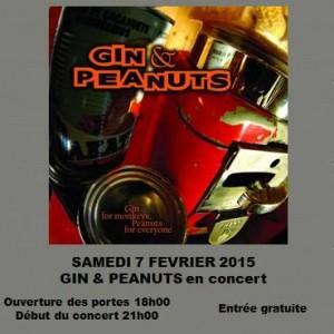 "7 février 2015 Gin & Peanuts à Amilly ""L'Atelier Pub Evenementiel"""