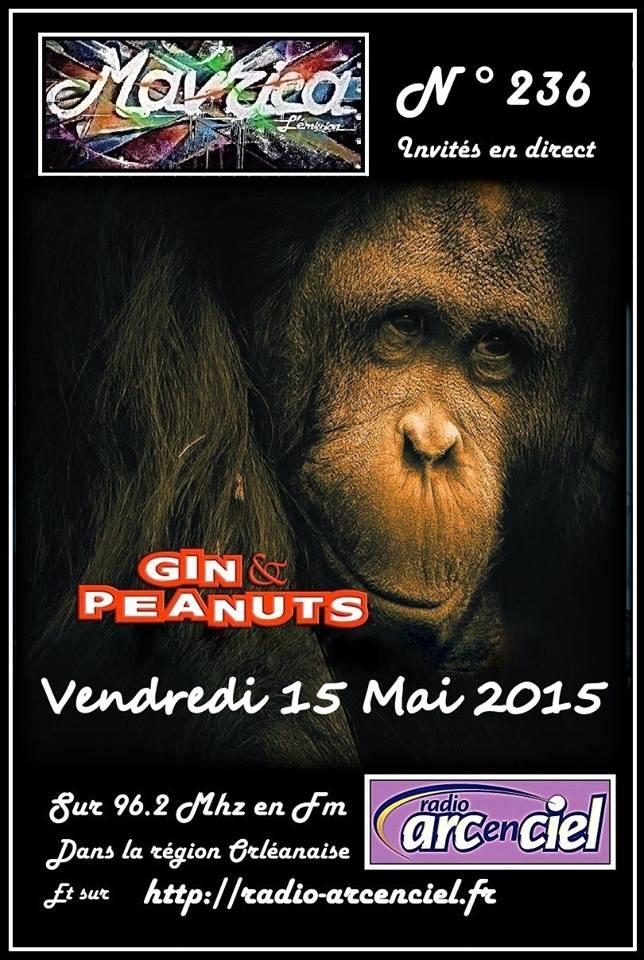 "15 mai 2015 Gin & Peanuts à Fleury les Aubrais ""Mavrica"""