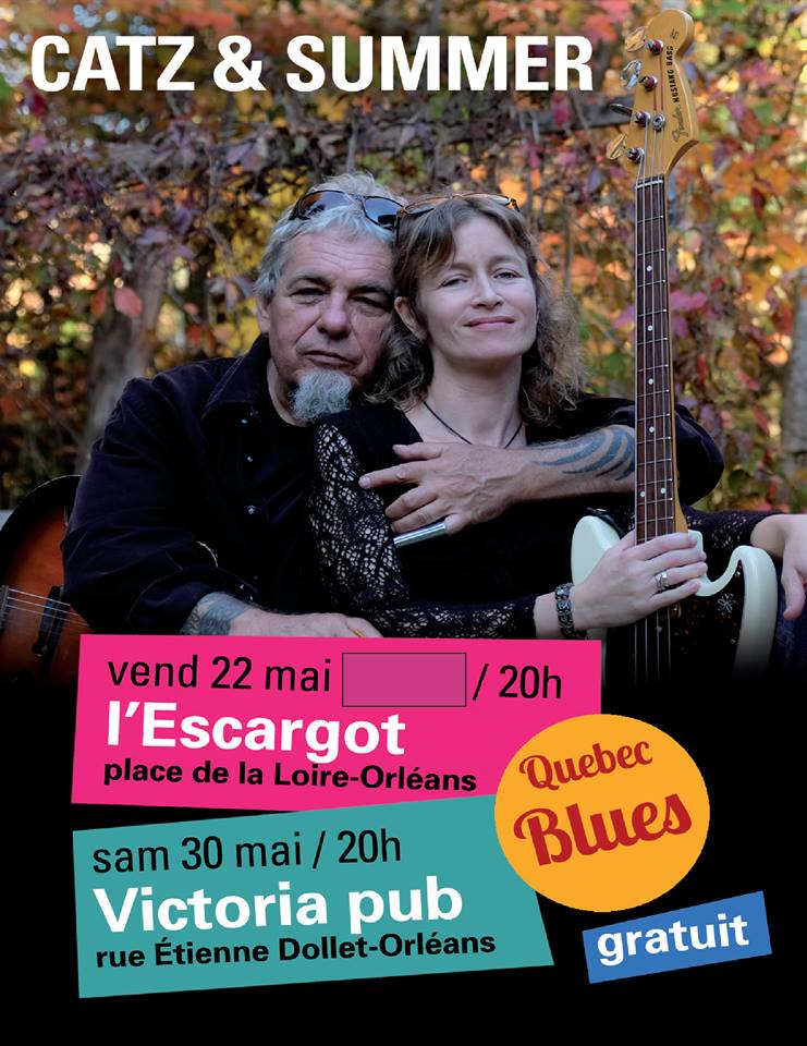 "22 mai 2015 Catz & Summer à Orléans ""L'Escargot"""