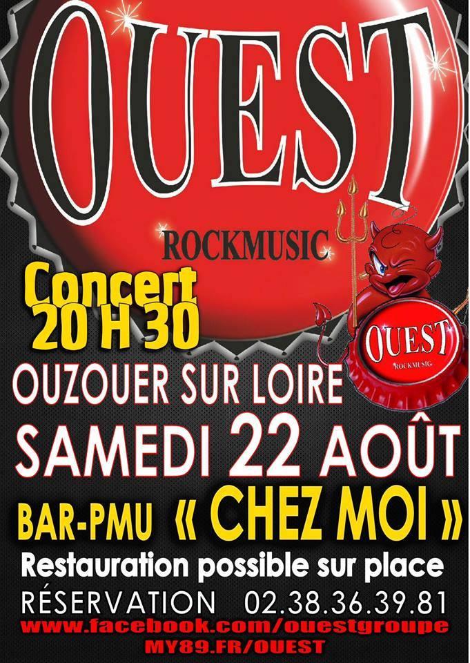 """22 aout 2015 Ouest à Ouzouer sur Loire """"Chez Moi"""""""