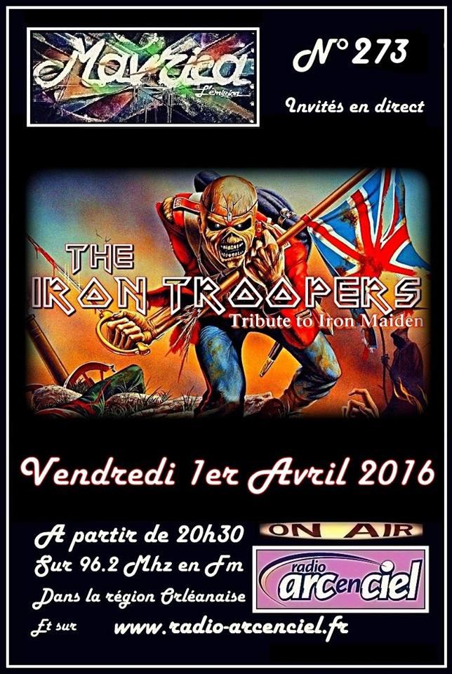 """1er avril 2016 Iron Troopers à Fleury les Aubrais """"Mavrica"""""""