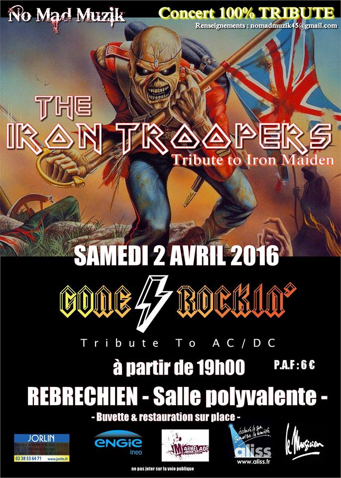 "2 Avril 2016 Iron Troopers à Rebrechien ""Salle Polyvalente"""