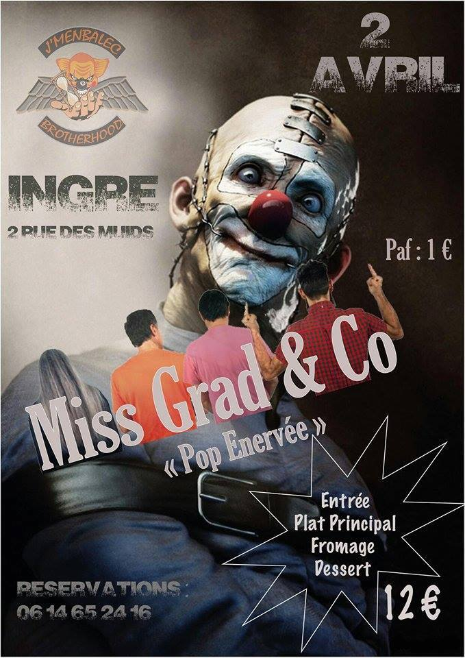 "2 avril 2016 Miss Grad & Co à Ingré ""J'membalek"""