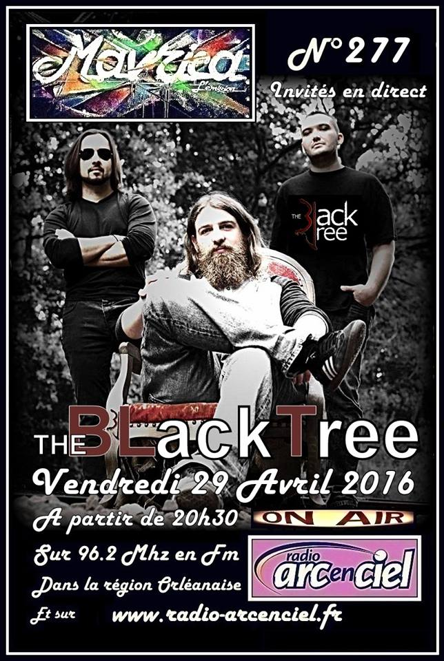 "29 avril 2016 The Black Tree à Fleury les Aubrais ""Mavrica"""