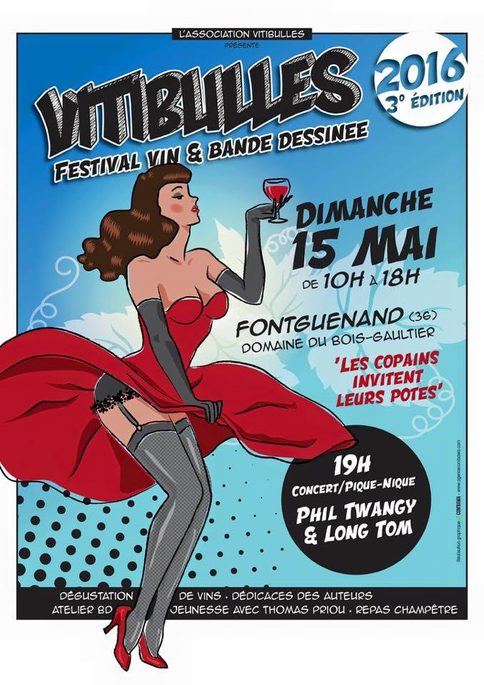 """15 mai 2016 Phil Twangy et Long Tom à Fonguenand """"Domaine du Bois Gaultier"""""""