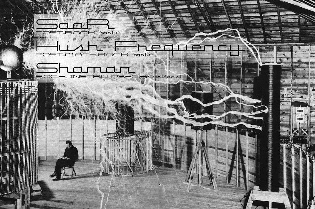 """27 mai 2016 Shaman, Hush Frequency, Saar à Orléans """"La Scène Bourgogne"""""""