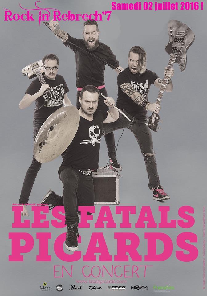 2 Juillet 2016 Stinger, Yeti, Les Fatals Picards à Rebrechien