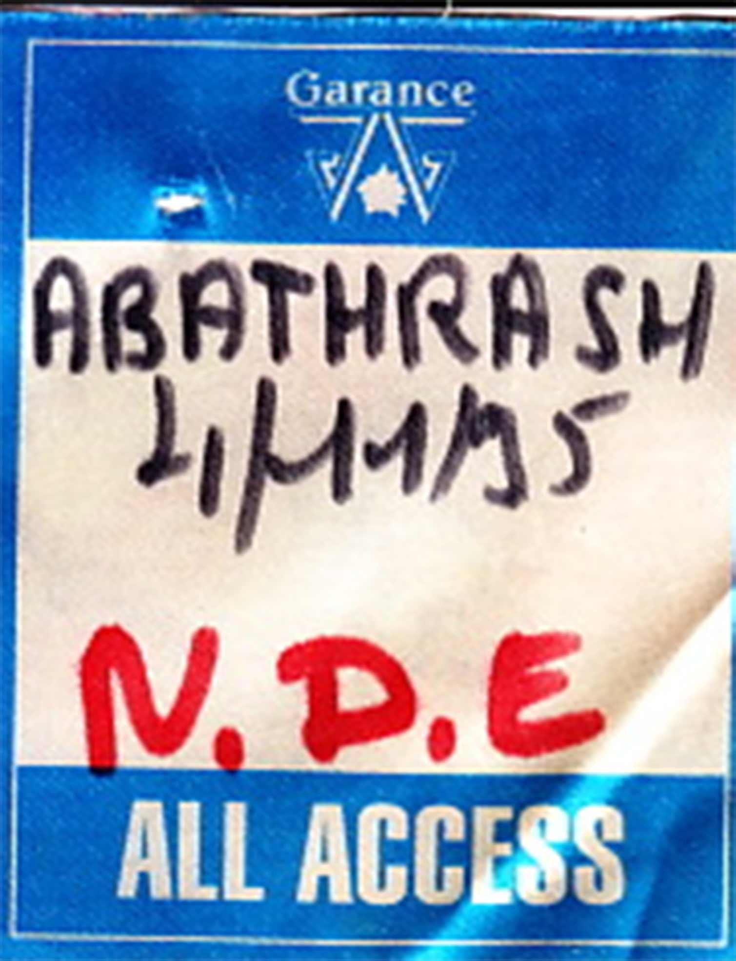 """4 novembre 1995  Hoax, Witches, PPZ30, Missing Link, Near Death Experience à Paris """"Elysee Montmartre"""""""