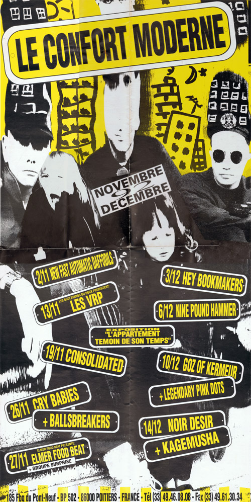Programme novembre decembre 1992