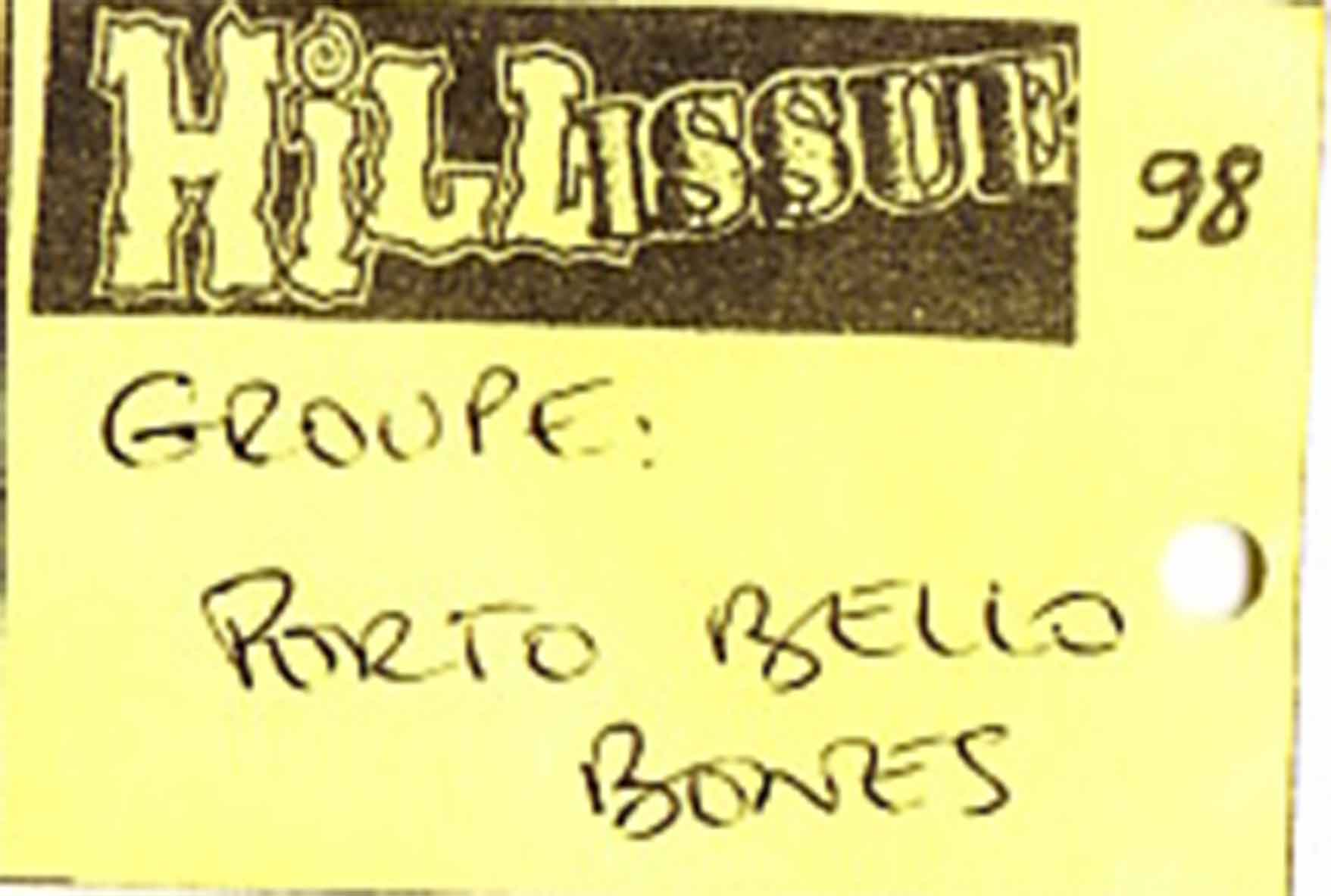 12 juillet 1998 Portobello Bones à Auxerre