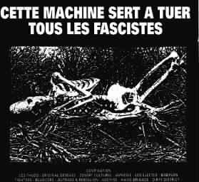 Cette machine sert à tuer tous les fascistes Compilation LP