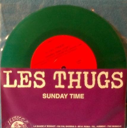 Les Thugs - Sale Defaite Split EP