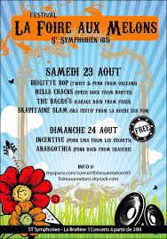 23 août 2008 Brigitte Bop, Skapitaine Slam, The Bagro's, Hells Crack à Saint Symphorien