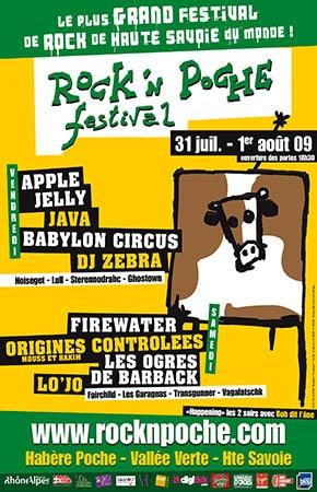 31 juillet 2009 Apple Jelly, Java, Babylon Circus, DJ Zebra, Noiseget, Lull, Sterennodrahc, Ghostown à Habere Poche