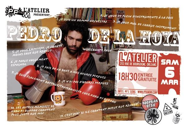 """6 mars 2010 Pedro de la Hoya à Orléans """"l'Atelier"""""""