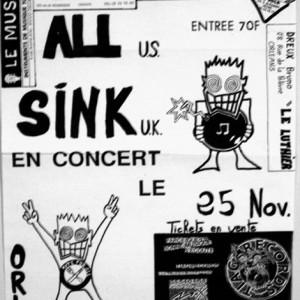 """25 Novembre 1989 All, Sink à Orléans """"le Privilège"""""""