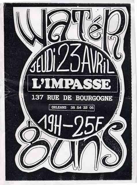 """23 avril 1992 Waterguns à Orléans """"l'impasse"""""""