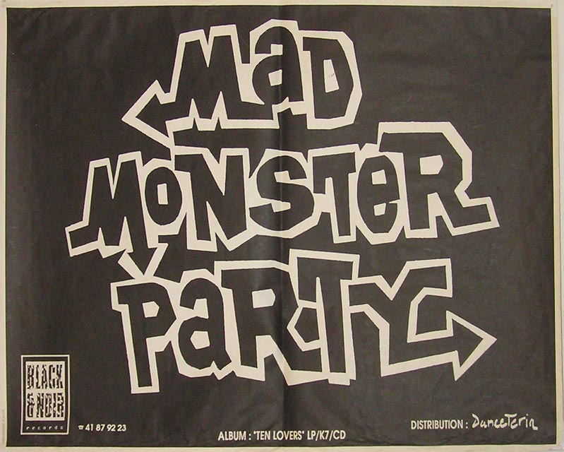 1992_06_20_Z4_MadMonsterParty_Affiche