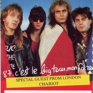 "4 avril 1987 Chariot, Vulcain - Orléans ""Salle du Baron"""