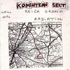 23 mai 1981 Komintern Sect, Reich Orgasm, Radiation à Courmenin