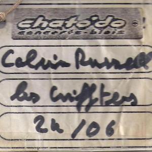 """24 juin 1999 Les Grifters, Calvin Russell à Blois """"Chato'do"""""""