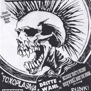 "23 novembre 2005 Because That's Fuckin' Rock'n'Roll Baby You Know, Dittre Whal, Toxoplasma, The Exploited à Olivet ""le Sunset"""