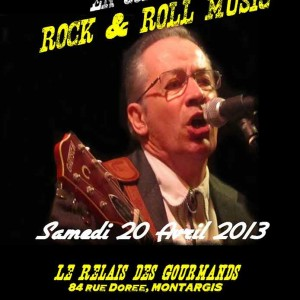 "20 avril 2013 Phil Twanguy à Montargis ""Relais des Gourmands"""