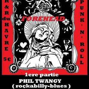 "7 février 2014 Phil Twanguy, ForeHead à Orléans ""l'Ibiza"""