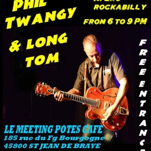 "27 septembre 2014 Phil Twangy & Long Tom à St Jean de Braye ""le Meeting Potes"""
