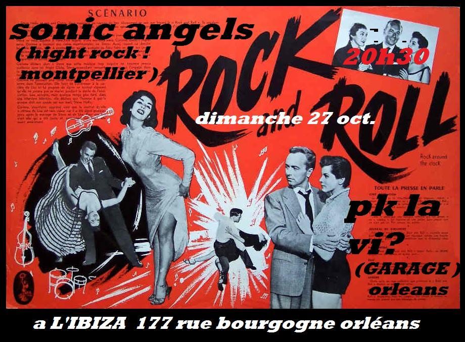 """27 octobre 2013 Pk La Vi, Sonic Angels à orléans """"l'Ibiza"""""""