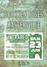 """23 juin 2012 Brokken Roses, Mastervoice à Orléans """"Infrared"""""""