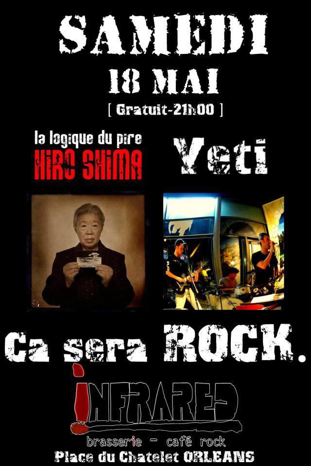 """18 mai 2013 Yeti, La Logique du Pire à Orléans """"Infrared"""""""
