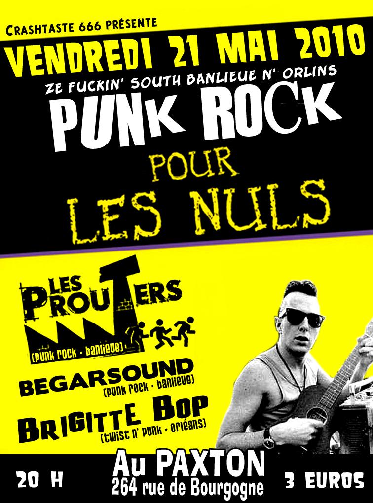 """21 mai 2010 Brigitte Bop, Begarsound, Les Prouters à Orléans """"le Paxton"""""""