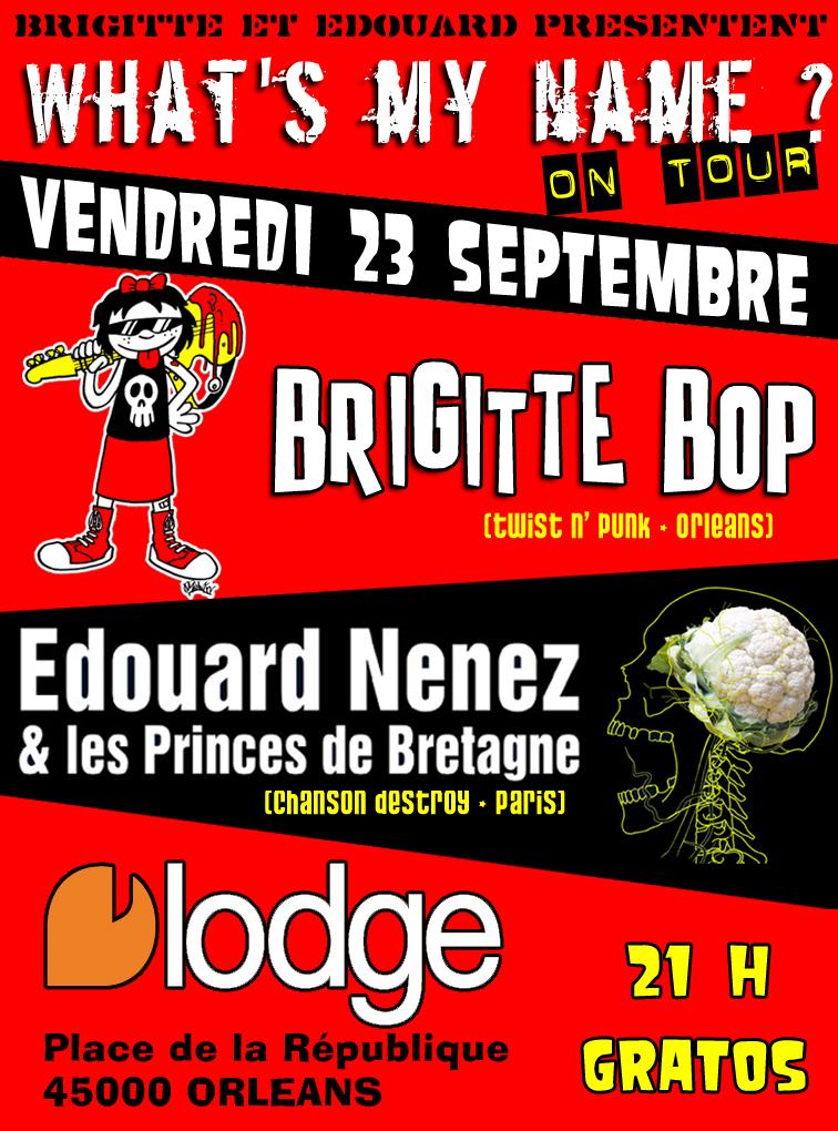"""23 septembre 2011 Brigitte Bop, Edouard Nenez & les princes de Bretagne à Orléans """"Le Lodge"""""""