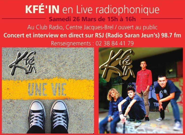 """26 mars 2016 Kfé'in à Saran """"Centre Social Jacques Brel"""""""