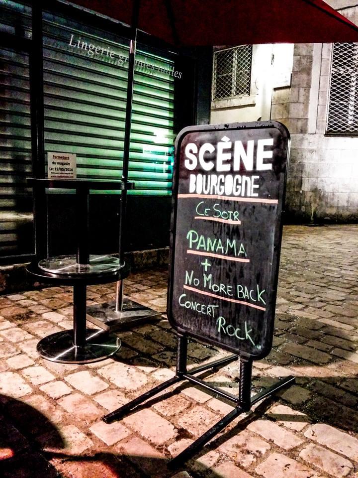 "12 mai 2014 Panama, No More Back à Orléans ""Scene Bourgogne"""