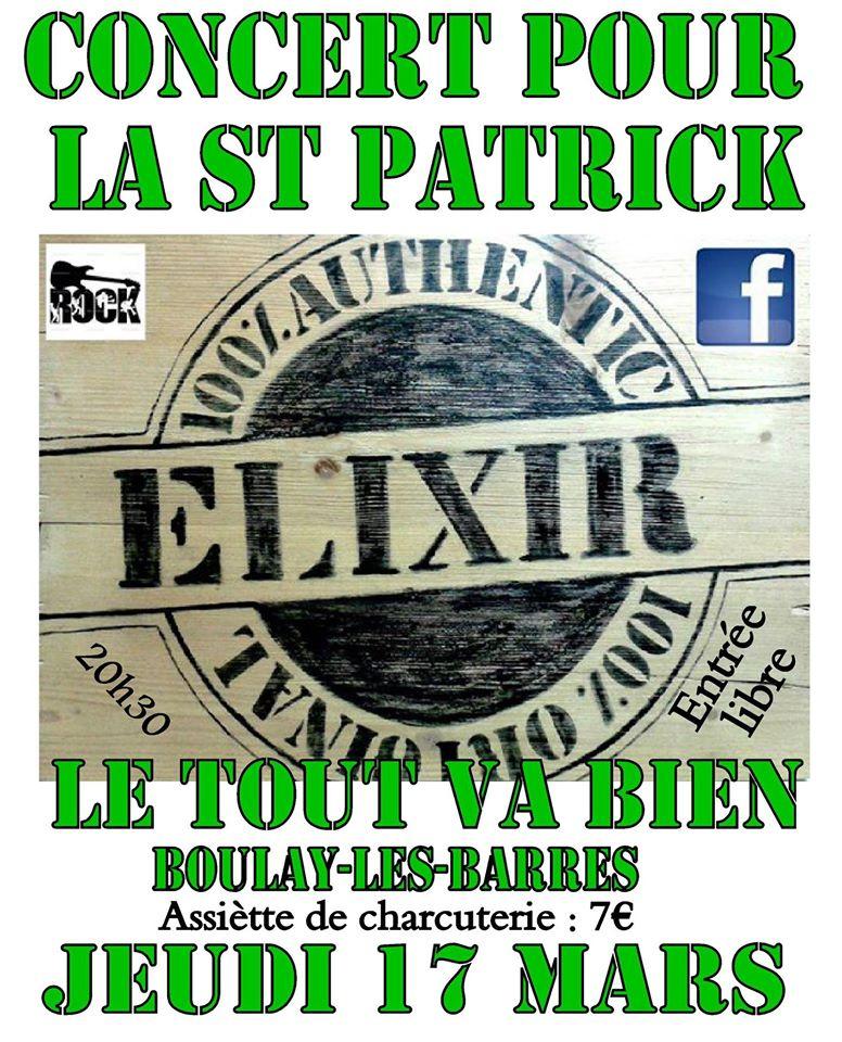 """17 mars 2016 Elixir à Boulay les Barres """"Le Tout Va Bien"""""""
