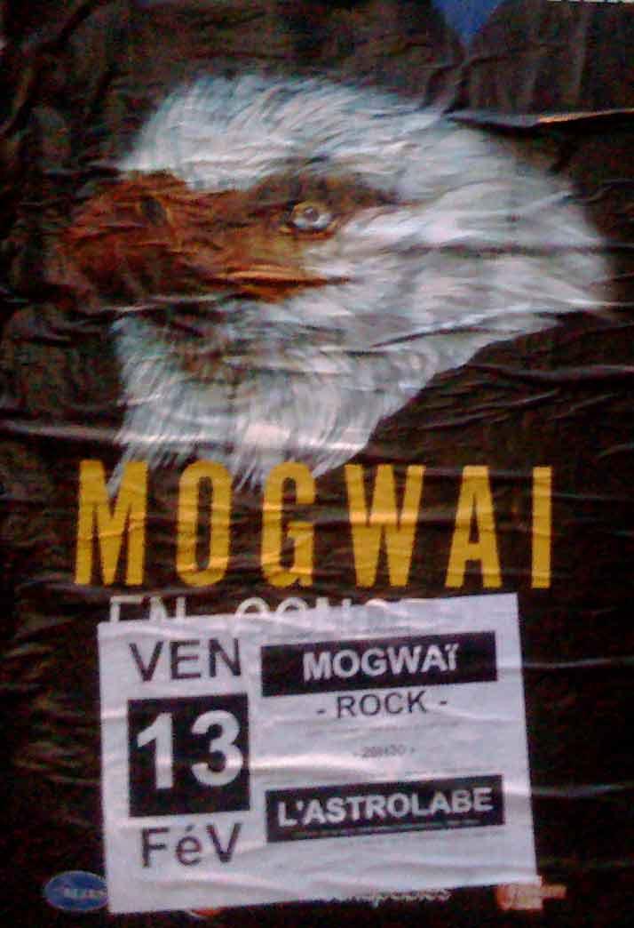 """13 fevrier 2009 Mogwai à Orléans """"Astrolabe"""""""