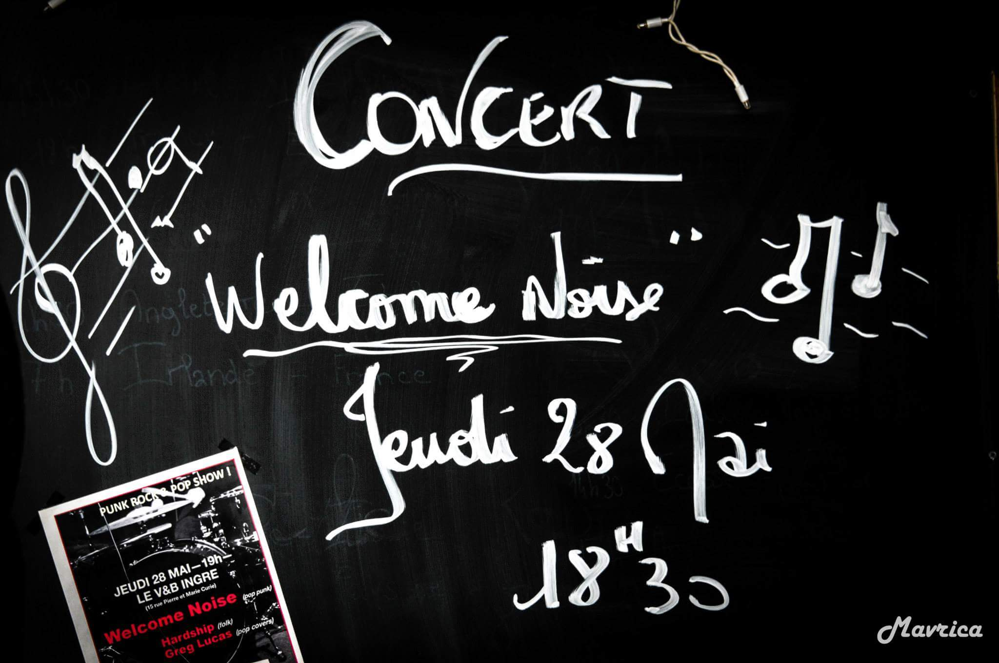 "28 mai 2015 Welcome Noise à Orléans ""V & B"""