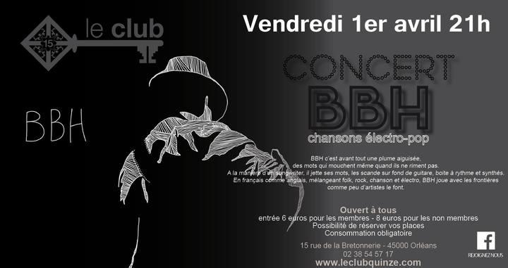 """1er avril 2016 BBH à 0rléans """"Club XV"""""""