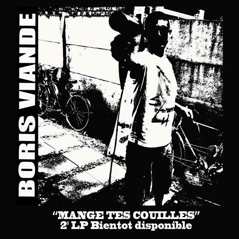 """Boris Viande """"Mange tes Couilles"""" -  LP"""