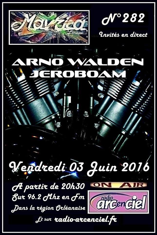 """3 juin 2016 Arno Walden à Fleury les Aubrais """"Mavrica"""""""